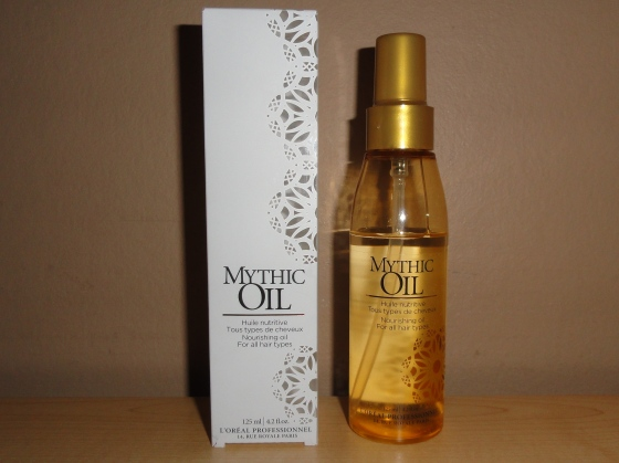 Mythic Oil L'Oréal, favourite of Cashmere and Ivory