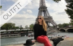 effortless Parisienne look by cashmere and ivory