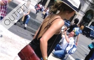 vintage day look in Milano